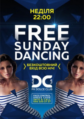 FREE SUNDAY DANCING @ Dolce Club