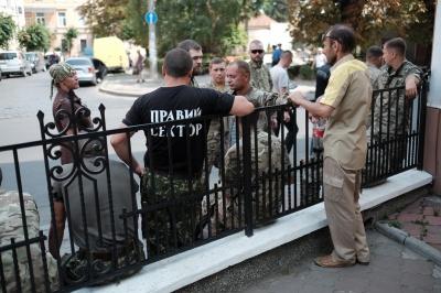 """Чернівці прощаються з героїчною розвідницею """"Лисою"""" (ФОТО)"""