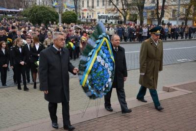 У Чернівцях відзначили річницю визволення України від фашистських загарбників