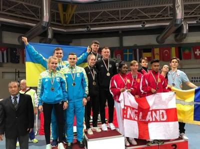 Клуб із Чернівців виборов 9 медалей на чемпіонаті Європи з карате