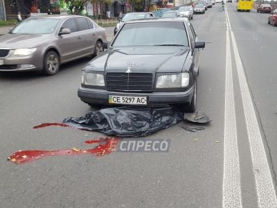 Жахлива ДТП у Києві - пішохід загинув під колесами авто з чернівецькими номерами