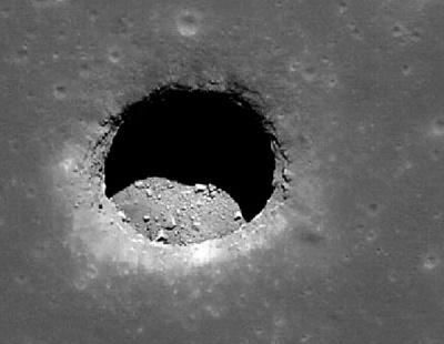На Місяці знайшли печеру довжиною 50 км
