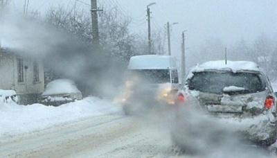 Кілька повітів Румунії потерпають від снігопадів та ожеледиці