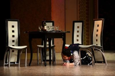 У Чернівцях театр з Тернополя показав виставу про кохання січового стрільця (ФОТО)