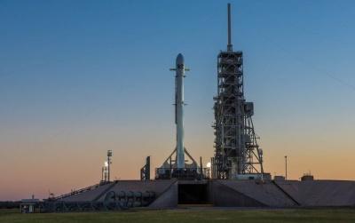 Ракета Falcon 9 загорілася під час приземлення