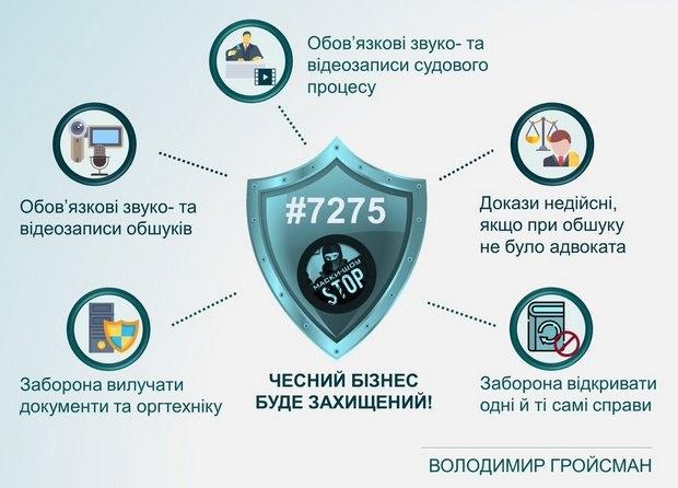 Рада ухвалила законопроект про відеофіксацію обшуків