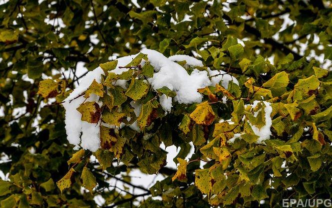 Репетиція зими. Унеділю вУкраїні валитиме мокрий сніг здощем