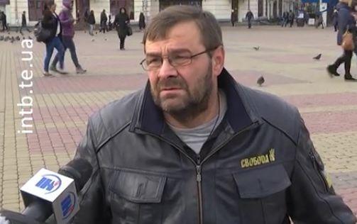 Депутат на інвалідному візку жорстоко побив поліцейських вТернополі