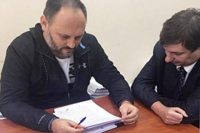 Каськіва випустили під заставу 160 тисяч гривень