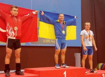Буковинець став чемпіоном Європи з важкої атлетики