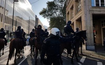У Німеччині відбулися сутички між поліцією і мітінгуючими курдами, є затримані