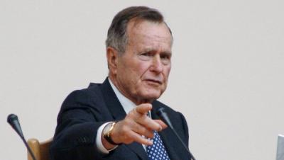 """Буш-старший розкритикував Трампа, обізвавши його """"хвальком"""""""