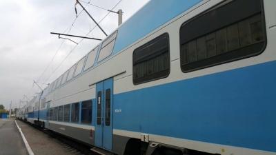 Між Києвом і Тернополем почав ходити двоповерховий потяг