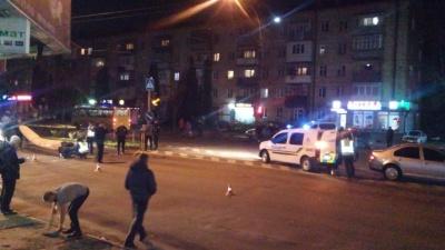 «Машина протягнула дівчину 15 метрів», - медики про подробиці аварії на проспекті Незалежності