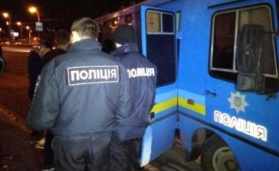 У Києві за бійку затримали 79 уболівальників