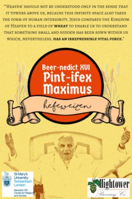 У США випустили пиво на честь Папи Римського
