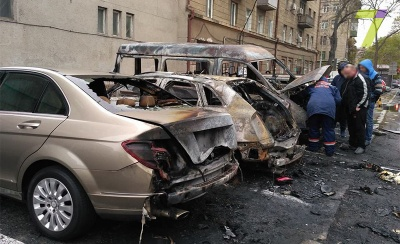 В Одесі за ніч згоріли 18 авто