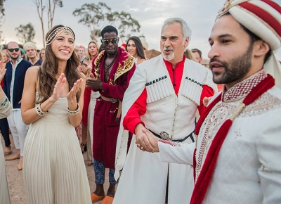 З'явилися фото з казкового весілля доньки Валерія Меладзе в Марокко (ФОТО)