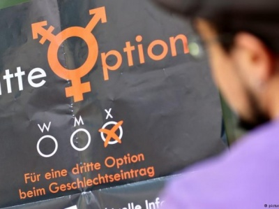 """У Німеччині дозволили вносити до реєстру про народження """"третю стать"""""""
