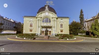 Google створив 3D-тур Чернівецьким драмтеатром