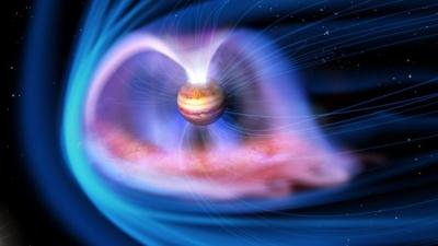 В NASA показали вражаючі полярні сяйва на Юпітері