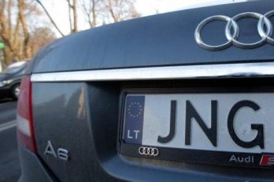 Власника авто на литовських номерах оштрафували на 3,4 мільйона