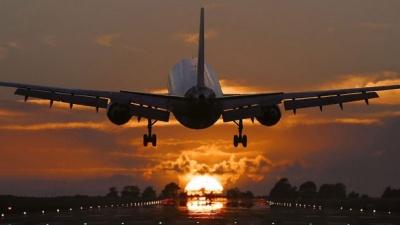 Літак здійснив екстрену посадку через скандал між подружжям