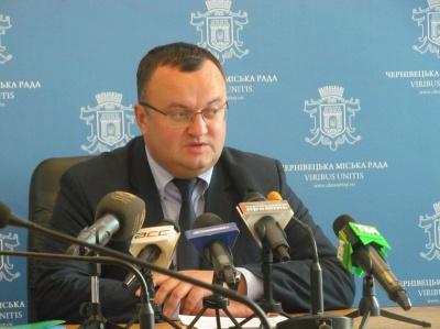Каспрук скликає позачергову сесію для обрання секретаря Чернівецької міськради
