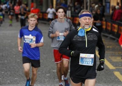 День народження чернівецький лікар відзначив марафонським забігом