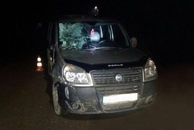 У Чернівецькій області «Фіат» на єврономерах збив на смерть пішохода