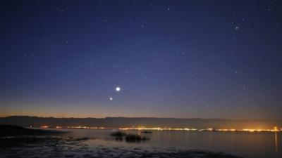 """""""Поцілунок"""" Венери та Юпітера : коли українці зможуть побачити незвичайне космічне явище"""