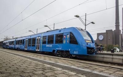 У Німеччині презентували потяг на водневому паливі