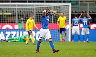 Збірна Італії не потрапляє на Чемпіонат світу-2018