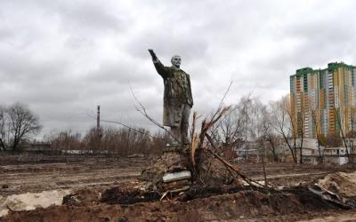 На Оболоні знайшли останній в Києві пам'ятник Леніну