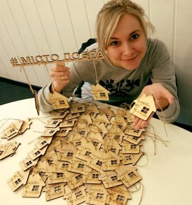 У Чернівцях збирають кошти на «Місто добра», в якому житимуть матері з дітьми, що опинились на вулиці