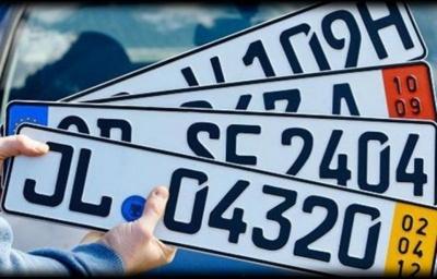Уряд хоче ввести тимчасову реєстрацію авто на єврономерах