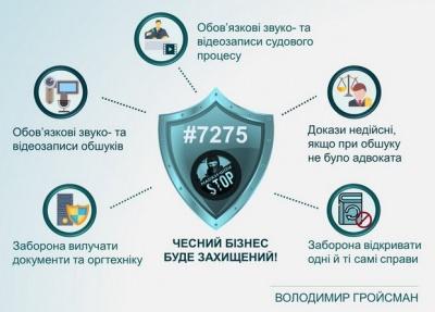 Нардепи ухвалили закон про захист бізнесу під час обшуків