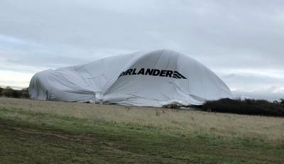 У Великій Британії знову впав найбільший у світі дирижабль Airlander 10