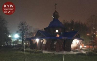 У Києві зловмисник спробував пограбувати церкву