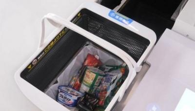 """У Японії тестують """"розумні"""" кошики для покупок, які замінять касирів (відео)"""