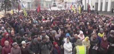 Саакашвілі заявив, що готовий очолити новий уряд нової влади