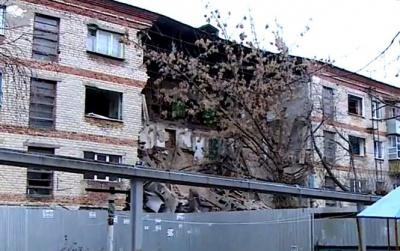 У Пензі обвалився під'їзд багатоквартирного будинку