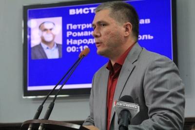 Депутат Петришин заявив, що зареєстрував проект рішення про обрання його секретарем Чернівецької міськради