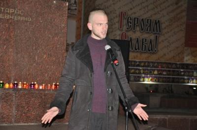 У Чернівцях відбулося віче з нагоди четвертої річниці Революції Гідності (ФОТО)