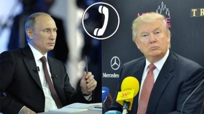 Трамп обговорив із Путіним ситуацію в Україні та Сирії