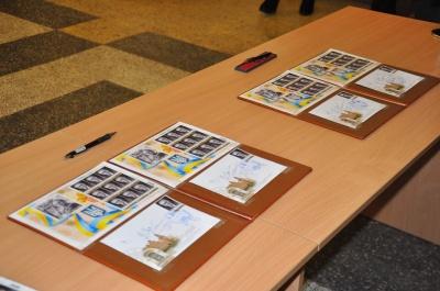 У Чернівцях погасили поштову марку, присвячену Михайлові Івасюку (ФОТО)