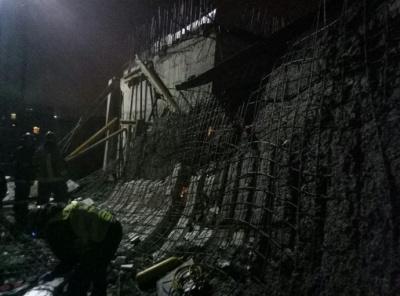 В Івано-Франківську обвалилася стіна Християнської школи. Загинула людина