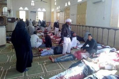 Кількість загиблих під час теракту у Єгипті збільшилася до 184 осіб