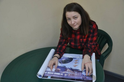 Студентка ЧНУ зробила проект сміттєпереробного заводу із оглядовим майданчиком у Чернівцях (ФОТО)