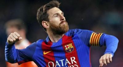 Мессі офіційно підписав новий контракт з Барселоною